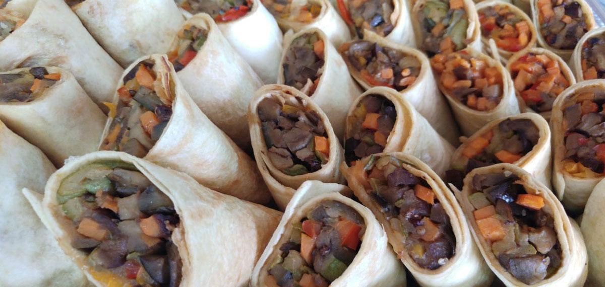 טורטיות ירקות
